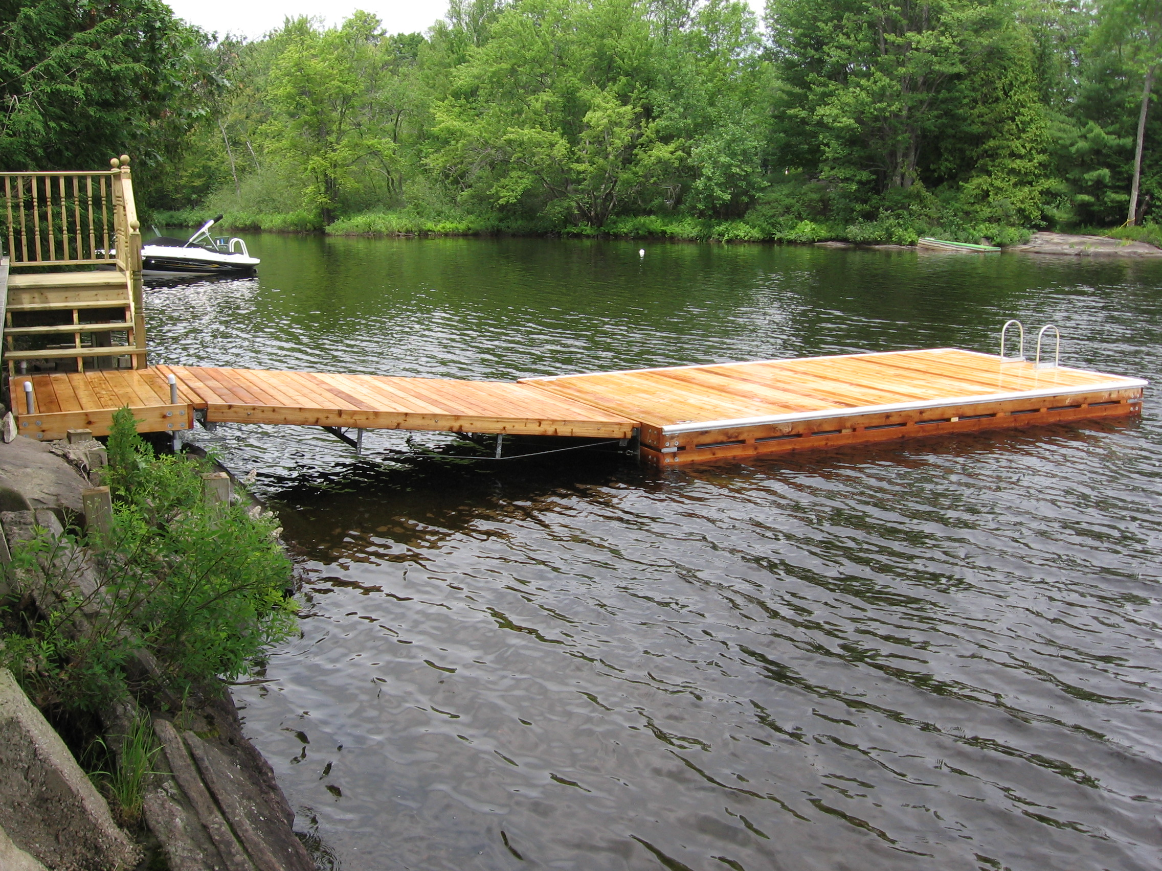 muskoka docks innovative docking systems design construction. Black Bedroom Furniture Sets. Home Design Ideas