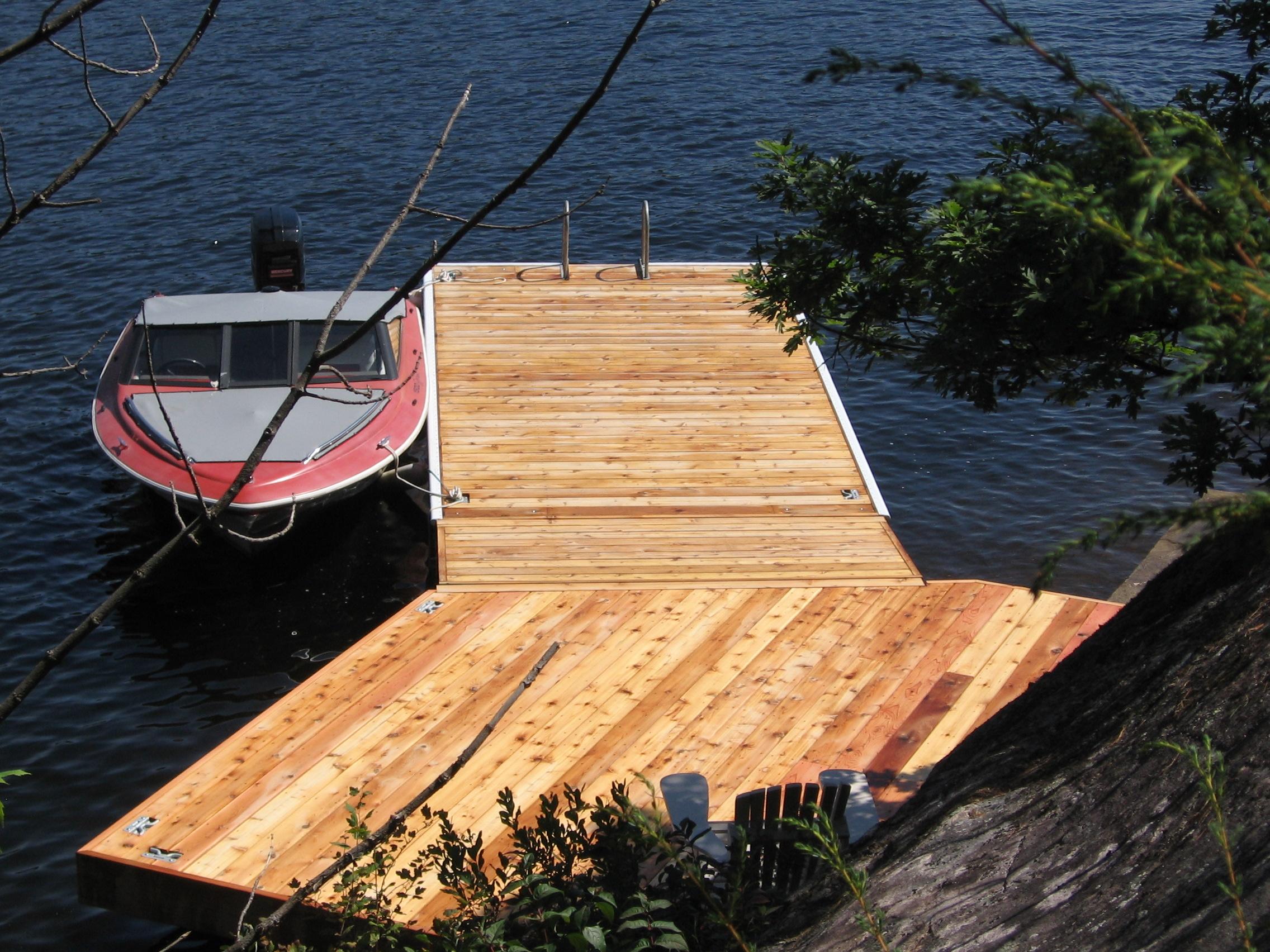 Muskoka Docks - Innovative Docking Systems, Design